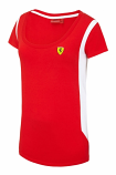 Ferrari Ladies Red Race Tee Shirt