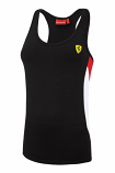 Ferrari Ladies Black Tank Top