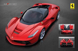 Ferrari La Ferrari Poster