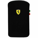 Ferrari iPhone 4-4S Scuderia Black Pouch