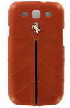 Ferrari Galaxy S3 California Camel Leather Case