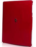 Ferrari iPad 3 FF Red Leather Case