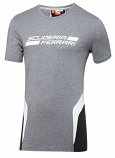 Ferrari Puma SF Grey Logo Tee Shirt