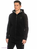 Ferrari Puma Black Zip Hooded Sweat Jacket