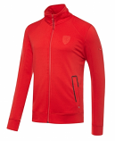 Puma Ferrari Red Zip Sweat Jacket