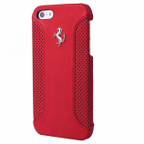Ferrari F12 iPhone 5C Red Leather Hard Case