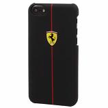 Ferrari Scuderia F1 iPhone 5/5S Black Rubber Hard Case