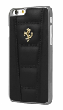 Ferrari 458 iPhone 6/6S Plus Black Leather Case