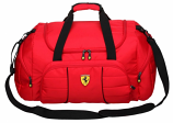 Ferrari Red Overnight Sports Bag