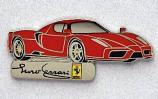 Ferrari Enzo Car Logo Pin