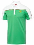 Puma Ferrari Green SF Polo Shirt