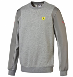 Puma Ferrari Grey SF Sweatshirt