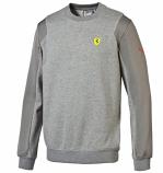 Puma Ferrari Grey SF Sweatshirt
