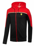 Puma Ferrari Black SF Sweat Jacket