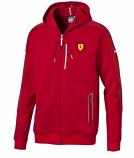 Puma Ferrari Red SF2 Sweat Jacket