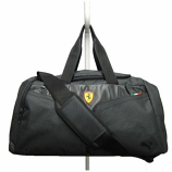 Puma Ferrari Black Team Replica Sports Bag