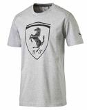 Puma Ferrari Grey Big Shield Tee