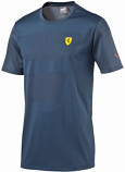 Puma Ferrari Navy Shield Jersey