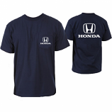 Honda Navy H Logo Pocket Tee Shirt