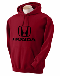 Honda Red Hooded Sweat Shirt