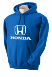 Honda Blue Hooded Sweat Shirt