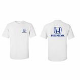 Honda White Classic Logo Tee