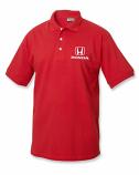 Honda Red Classic Logo Polo Shirt