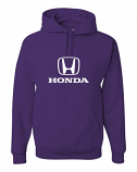Honda Purple Hooded Sweat Shirt
