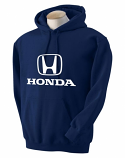 Honda Navy Hooded Sweat Shirt