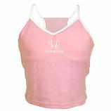 Honda Ladies Pink Strap Tee Shirt
