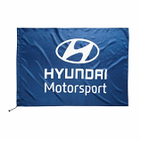 Hyundai Motorsport Team Logo Flag