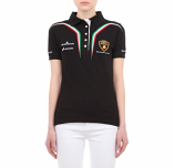 Lamborghini Squadra Corse Ladies Black Polo