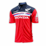 Honda Racing Team Red Pit Shirt 2016