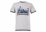 Maserati Classiche Grey Tee Shirt