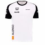 McLaren Honda F1 Fernando Alonso Tee