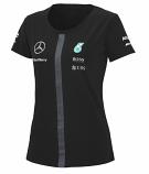 Mercedes AMG Petronas Black Ladies Team Tee 2015