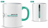 Mercedes AMG Petronas F1 White Team Mug