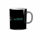 Mercedes AMG Petronas F1 Black Team Mug