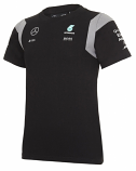 Mercedes AMG F1 Kids Black Team Tee