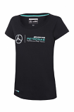 Mercedes AMG F1 Ladies Black Tee
