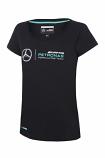 Mercedes AMG F1 Ladies Black Tee
