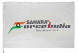 Sahara Force India F1 Team Logo Flag
