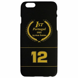 Ayrton Senna iPhone 6 Black Goldleaf Case