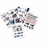 BMW Sauber F1 Wall Sticker Set