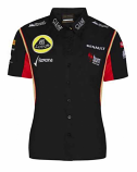 2013 Lotus F1 Renault Team Crew Shirt
