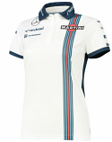 Williams Martini Racing Ladies Polo Shirt 2015