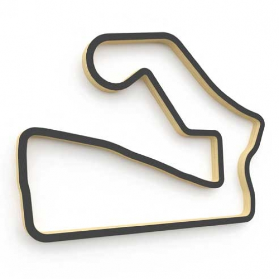 Linear Edge Road America Track Wall Art