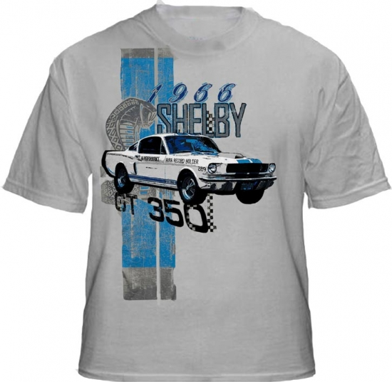 Shelby GT350 1966 AHRA Champion Tee Shirt