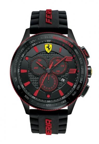 Ferrari Scuderia XX Chronograph Black/Red Watch