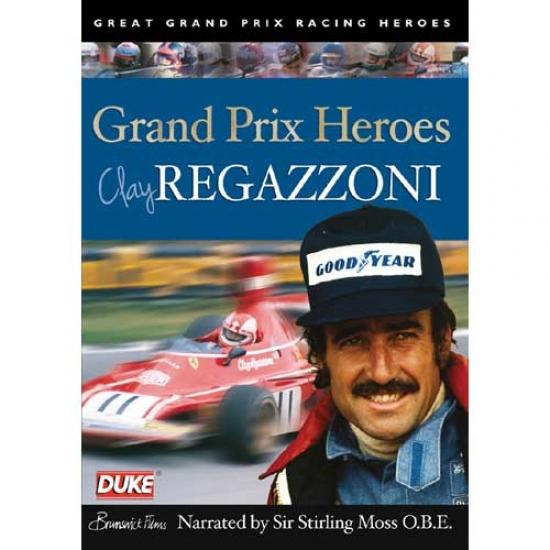 Clay Regazzoni Grand Prix Heroes DVD